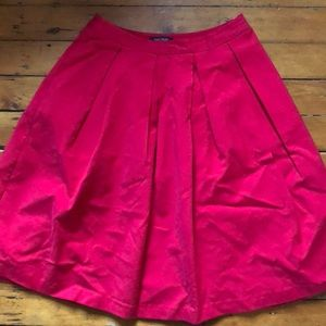 Red skirt with POCKETS!